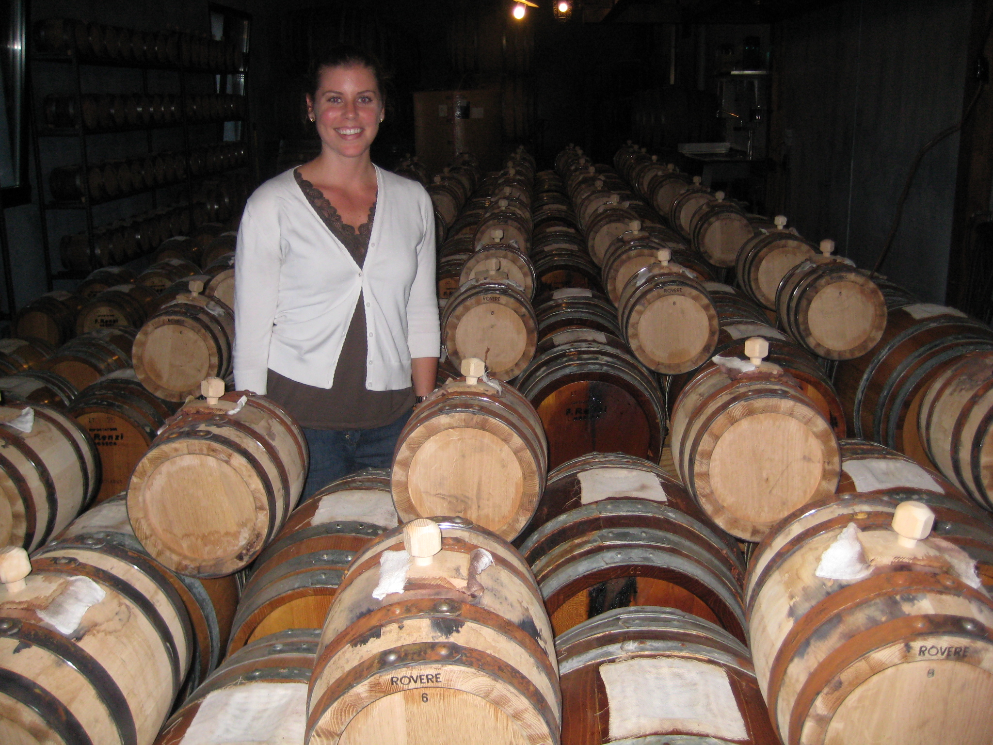 In a Balsamic Cellar at Delea Winery in Ticino, Switzerland