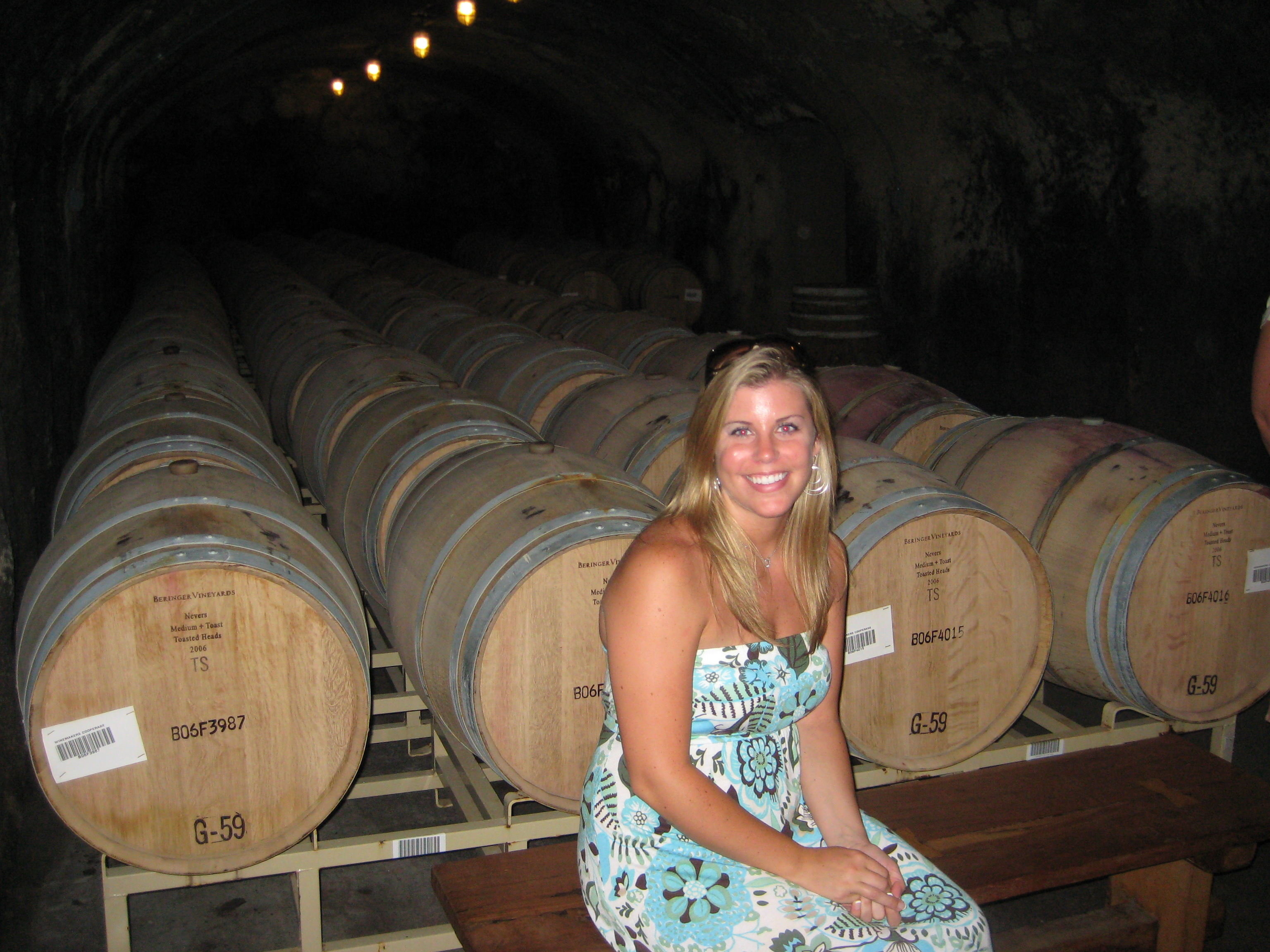 Beringer Cellars in Napa Valley