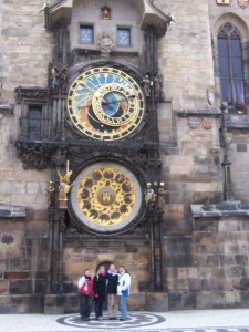 Clock Tower in Prague